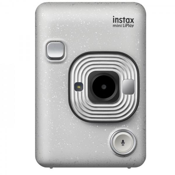 Fuji Instax Mini LiPlay Sofortbildkamera, weiß