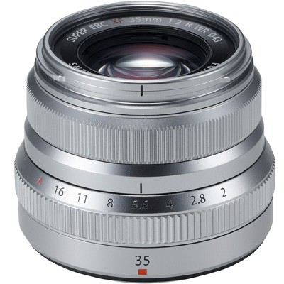 Fuji FUJINON XF 2/35mm R WR, silber