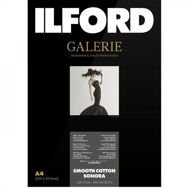 Ilford Galerie SmoothCotton Sonora 320g 10x15 50Bl