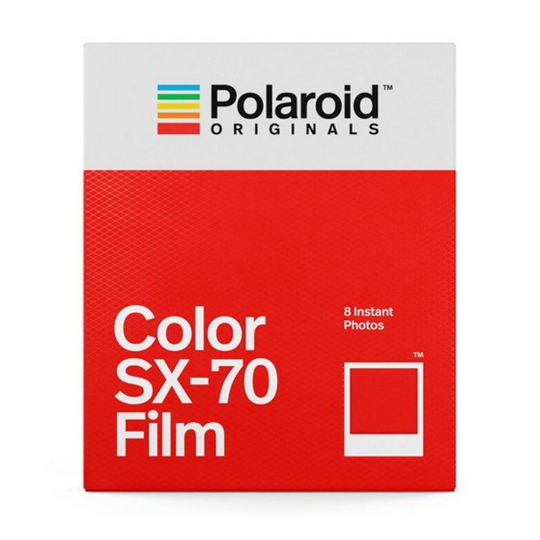 Polaroid Sofortbildfilm Color SX-70 8 Aufnahmen