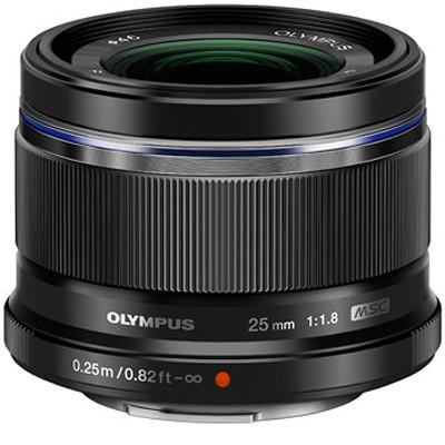 Olympus M.Zuiko Digital ED 1,8/25mm, schwarz
