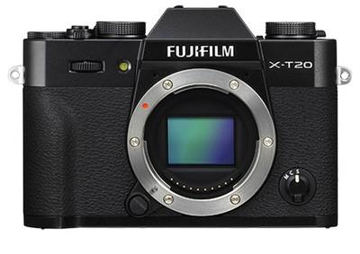 Fuji X-T20, schwarz