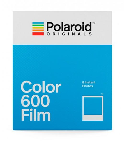 Polaroid Sofortbildfilm Color 600 8 Aufnahmen