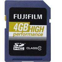 Fuji SDHC High Performance Class 10  4GB