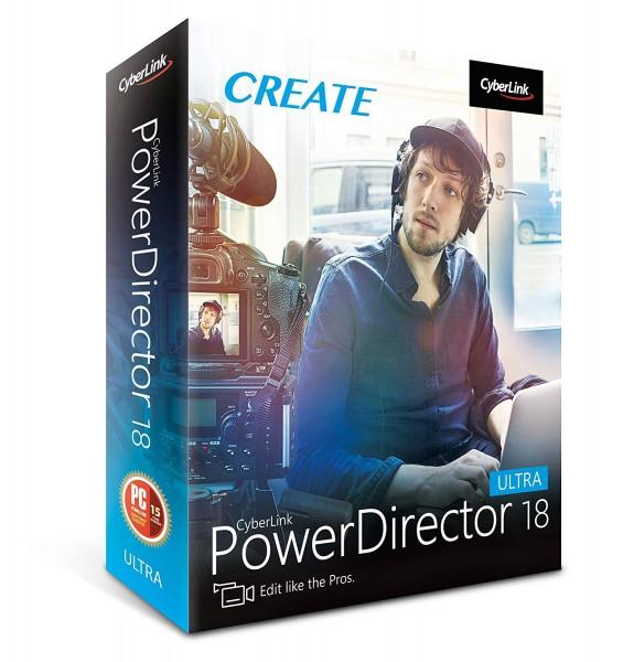 Cyberlink Power Director 18 Ultra