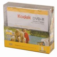 Kodak Mini DVD-R doppelseitig,5St. im MiniSlimcase