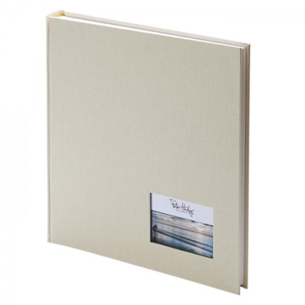 Peter Hadley Buchalbum 25x25cm, creme