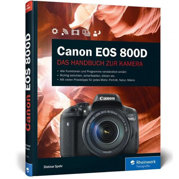 Buch: Canon EOS 800D, Das Handbuch zur Kamera