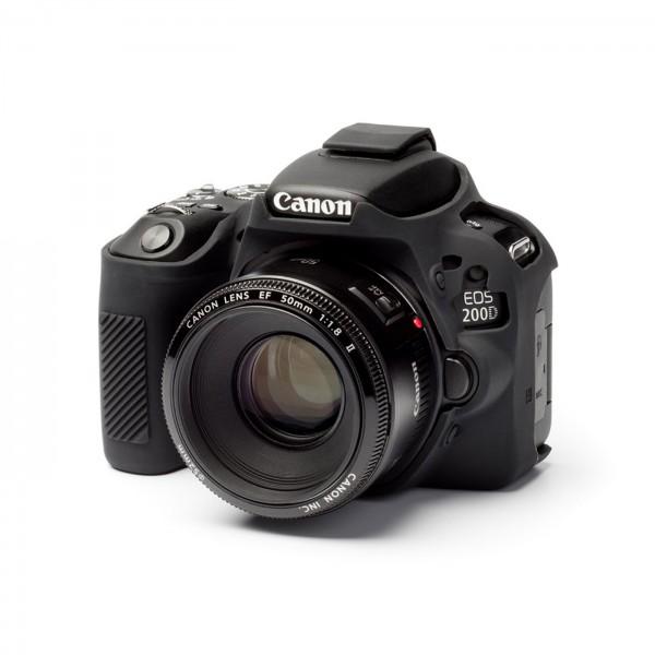 easyCover case für Canon 200D/250D, schwarz