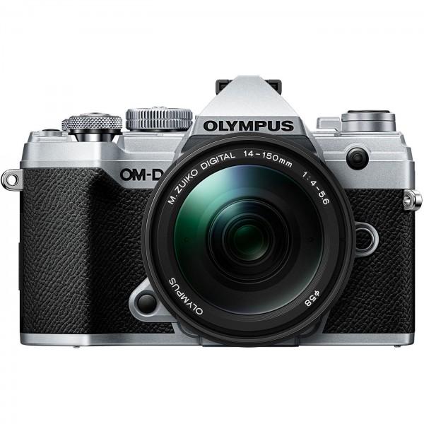 Olympus E-M5 Mark III Set +14-150mm, silber