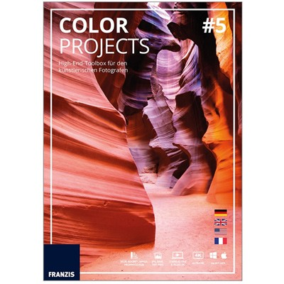 Franzis Color projects # 5 Software
