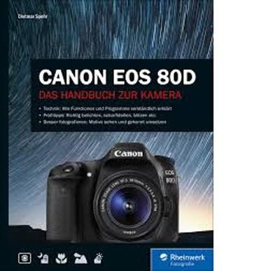 Buch: Canon EOS 80D, Das Handbuch zur Kamera