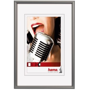 "Hama Alu-Rahmen ""Chicago"" 30x40cm, grau"