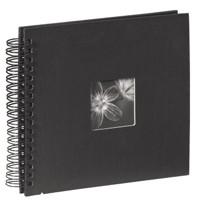 Hama Spiralalbum Fine Art schwarz,26x24, 50 Seiten