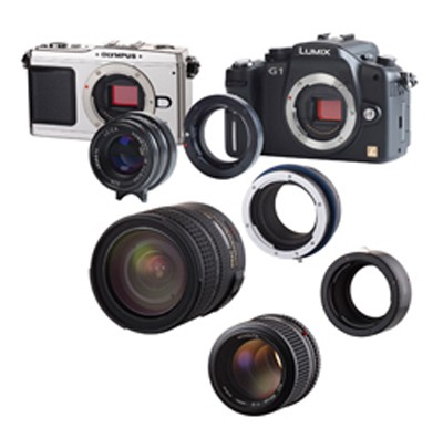 Novoflex Balgen/Kamera-Adap. T2Pro für T2 Adapter