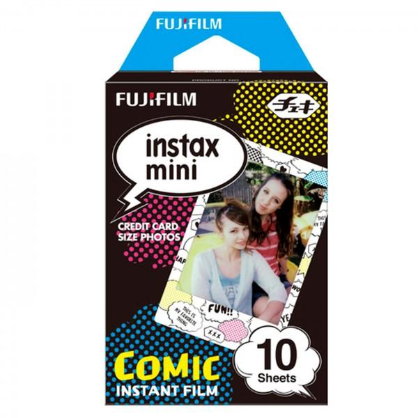 """Fuji Instax Mini Sofortbildfilm """"Comic"""" 10er"""