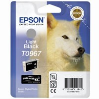 Epson Tinte (T0967) light black für R2880