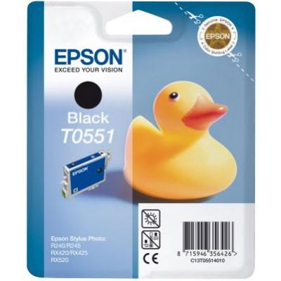 Epson Tinte (T0551) schwarz für Photo RX 420/520
