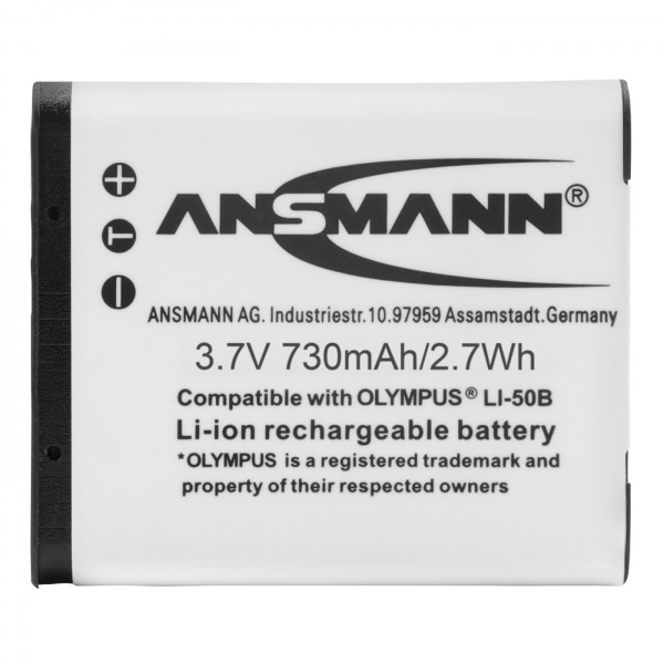Ansmann Akku Oly Li50B/ Ric DB 100, 770mAh