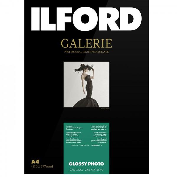 Ilford Galerie Glossy Photo 260g DIN A4, 100 Blatt