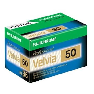 Fuji Chrome Velvia 50, 135-36