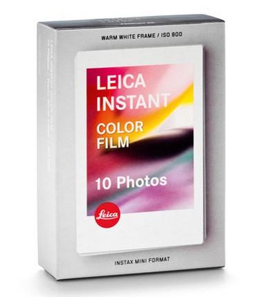 LEICA SOFORT Farbfilm 10 Blatt