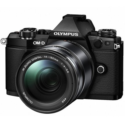 Olympus OM-D E-M5 Mark II + 14-150 mm II, schwarz