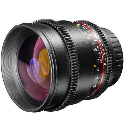 Walimex Pro 1,5/85mm VDSLR für Canon EOS