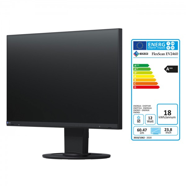 EIZO EV2460-BK FlexScan, schwarz Office-Monitor
