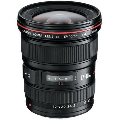 Canon Objektiv EF 4,0/17-40 L USM