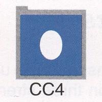 Cromatek Colorspot oval blau   CC4