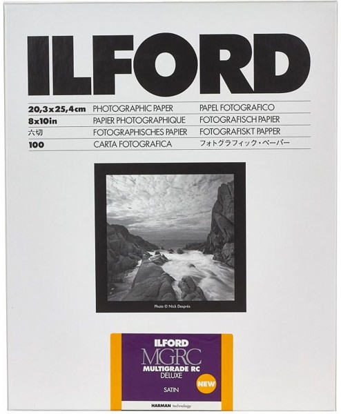 Ilford MG RC DeLuxe 25M satin 50Bl., 30x40