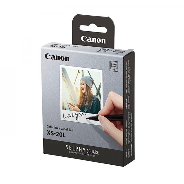 Canon XS-20L Druck Set mit Farbtinte und Stickern