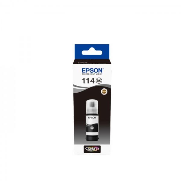 EPSON Tintenflasche 114 schwarz pigmentiert