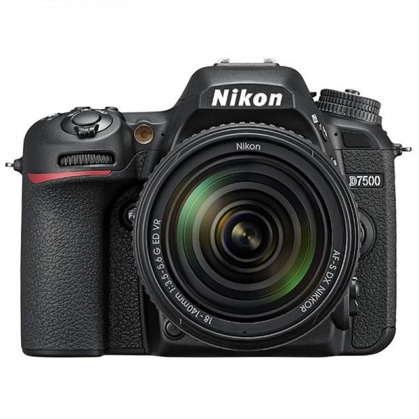 Nikon D7500 Set + AF-S DX 18-140 mm G ED VR