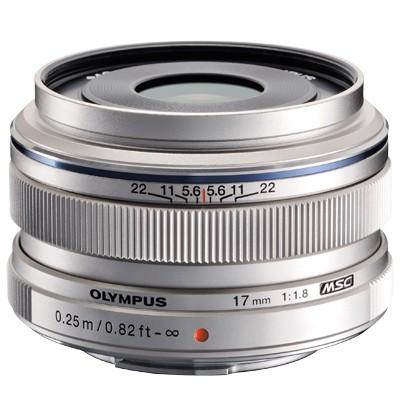 Olympus M.Zuiko Digital 1,8/17 mm, silber