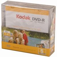 Kodak Mini DVD-R, 5 St. im MiniSlimcase 1,4GB