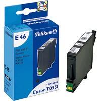 Pelikan Tinte für Epson (orig. T055140) schwarz