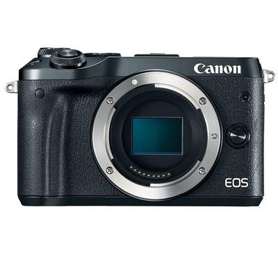 Canon EOS M6 Gehäuse, schwarz