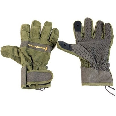 Stealth Gear Handschuhe waldgrün Größe M