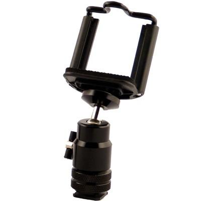 fotonovum Smartphone-DSLR-Fix f. Blitzschuh