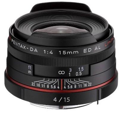 Pentax HD DA 4/15mm ED AL Limited, schwarz