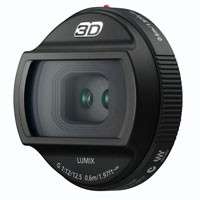 Panasonic Lumix 3D Objektiv 12/12,5mm