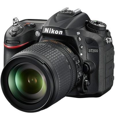 Nikon D7200 Set + AF-S 3,5-5,6/18-105mm G ED VR