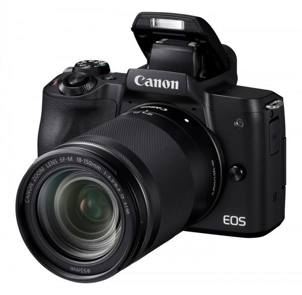 Canon EOS M50 Set + EF-M 18-150mm, schwarz