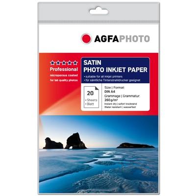 Agfa Professional Satin 260g., 20 Bl. DIN A4