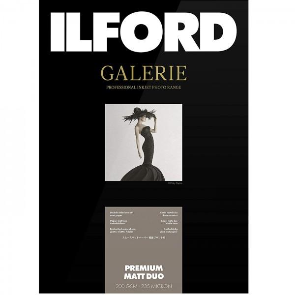 Ilford Galerie Prem.matt Duo (IGPMD) 200g 25Bl A3+