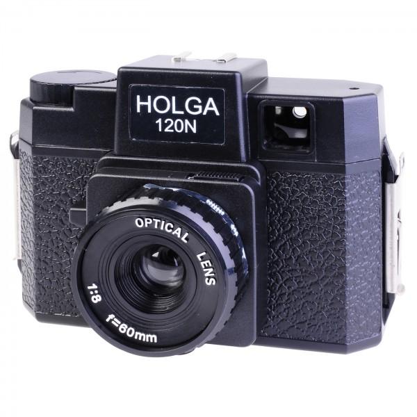 Holga 120N-G, schwarz