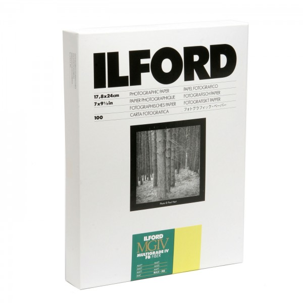 Ilford MG IV FB 5K 100Bl. 18x24 matt