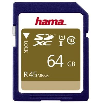 Hama SDXC 64 GB Class 10 UHS-I